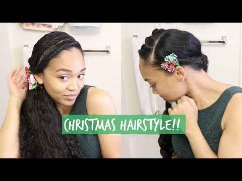 Holiday Hair Tutorial  Hairstyles for the Season  Christmas Edition