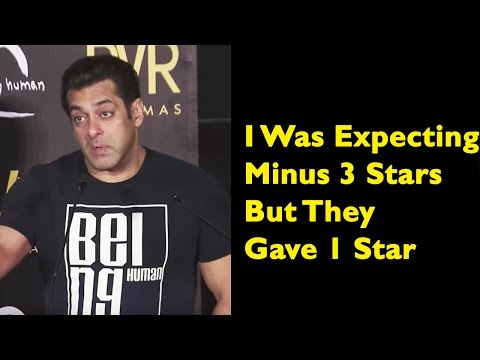 Salman Khan's SHOCKING Reaction On Tubelight Negat