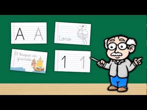 Video of fun calligraphy learn Spanish