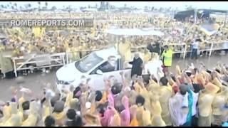 Месса Папы Римского собрала более шести миллионов человек