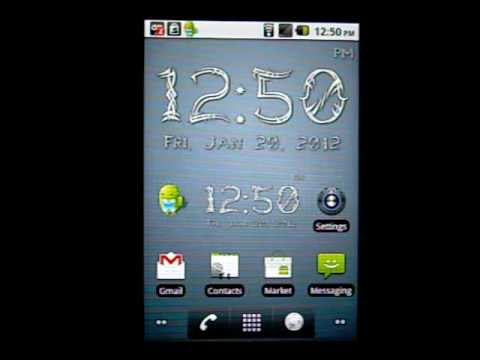Video of Ultimate Digital Clock Widget