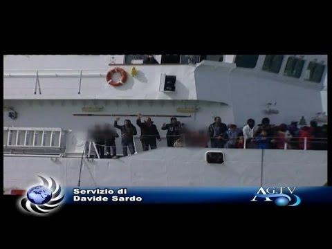 Arrivati a Porto Empedocle 313 migranti