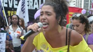 Nenhuma a Menos, Nenhum Direito a Menos! 25 de novembro unificado no Rio