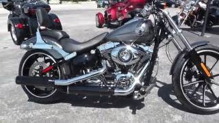 9. 029181 - 2014 Harley Davidson Softail Breakout FXSB - Used motorcycles for sale