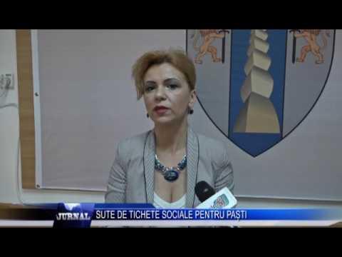 SUTE DE TICHETE SOCIALE PENTRU PASTI