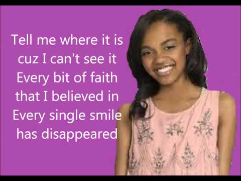 Tekst piosenki China Anne McClain - How Do I Get There From Here po polsku