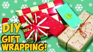How To Wrap Presents | Fun DIY Gift Wrapping Ideas!