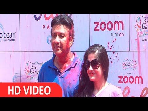Anu Malik & Anmol Malik At Zoom Holi Party