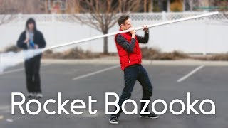 Homemade Rocket Bazooka Test Fire
