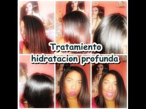 TRATAMIENTO HIDRATACION PROFUNDA PARA EL PELO ♥