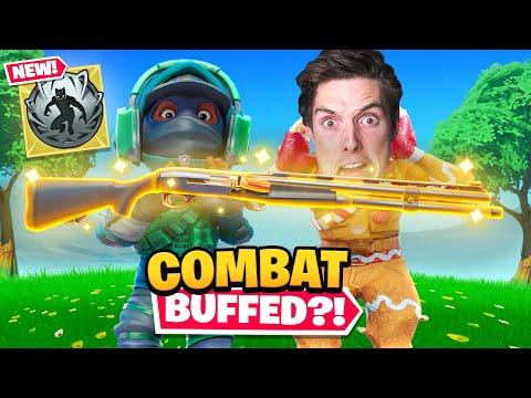 the COMBAT SHOTGUN is good again?!