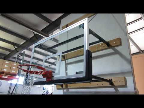 SuperMount46™ Wall Mount Basketball Goal