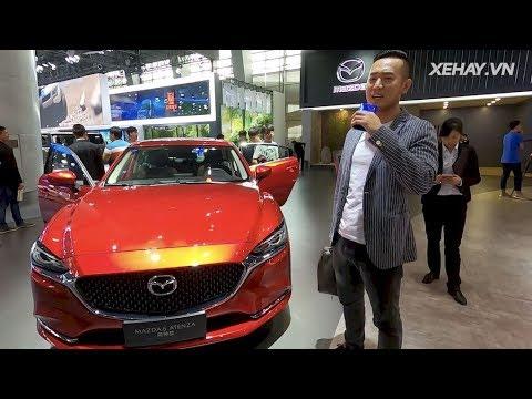 Ngắm nhìn và khám phá Mazda6 2020 - đối thủ Camry và Accord sắp về Việt Nam @ vcloz.com