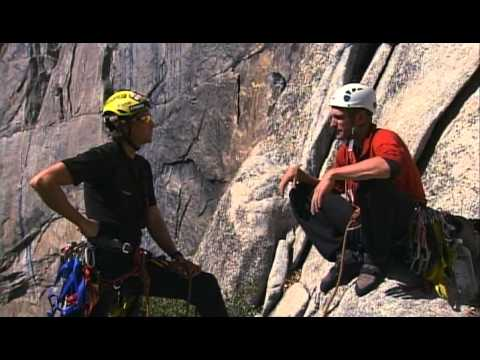 climb - Joby Ogwyn makes a big wall climb on Lost Arrow Spire in Yosemite for National Geographic.