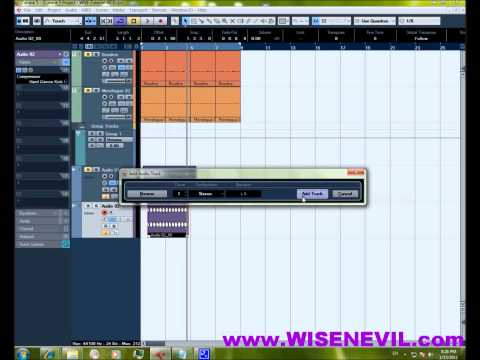 Cubase Tutorial – Creating a Kick Drum (Monologue)