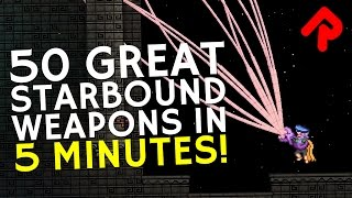 In this A-Z of the best Starbound weapons we take a quickfire look at 50 great Starbound weapons in 5 minutes. Subscribe for ...