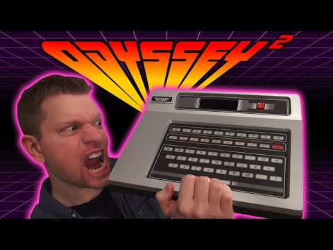 Magnavox Odyssey 2 Console (History of Video Games 8)