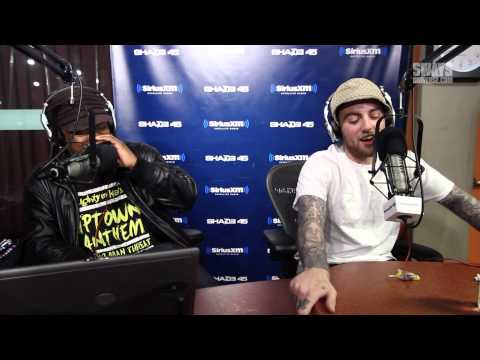 Mac Miller Almost-but-Not-Serious Freestyles over the 5 Fingers of Death | Sway's Universe