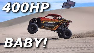 Ripping the Evolution Powersports Stage 7 unit! 400+ hp!!! WOW!