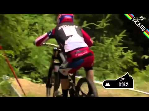 Mountain Biker Wins Competition With No Chain On Bike (видео)