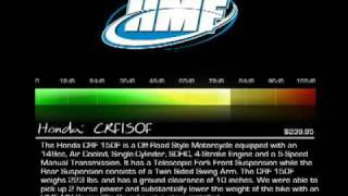 6. HMF: Honda CRF150F