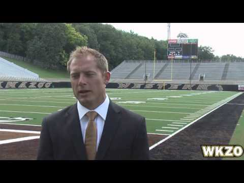 WMU Head Coach PJ Fleck from Media Day