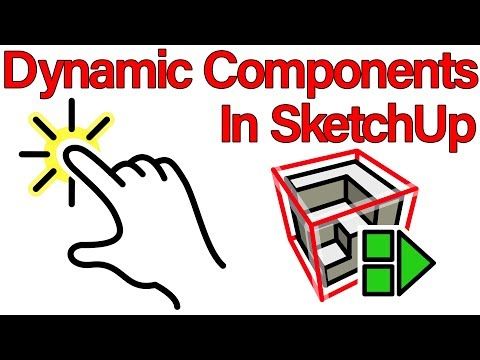 How to Make Dynamic Components in Sketchup - Basic