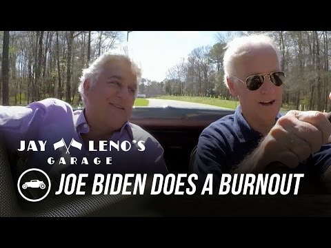 Vice President Joe Biden Does a Burnout in His Classic