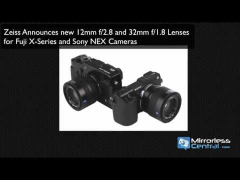 Four New Lenses Coming for Fujifilm X-Series, Sony NEX and Micro 4/3 Cameras