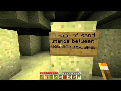 Minecraft Adventure Map: Pharaoh's Curse #01