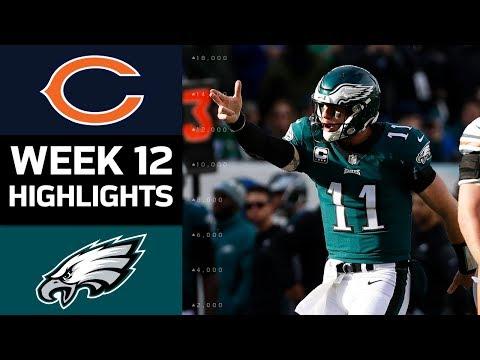 Video: Bears vs. Eagles | NFL Week 12 Game Highlights