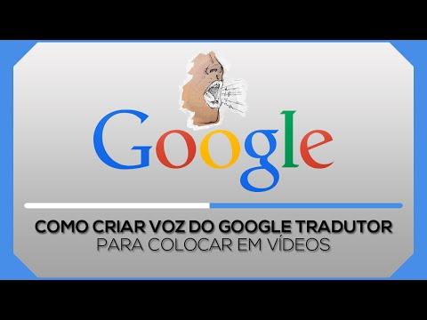 Como colocar voz do Google Tradutor em seus vídeos 2017 - 100% Funcional