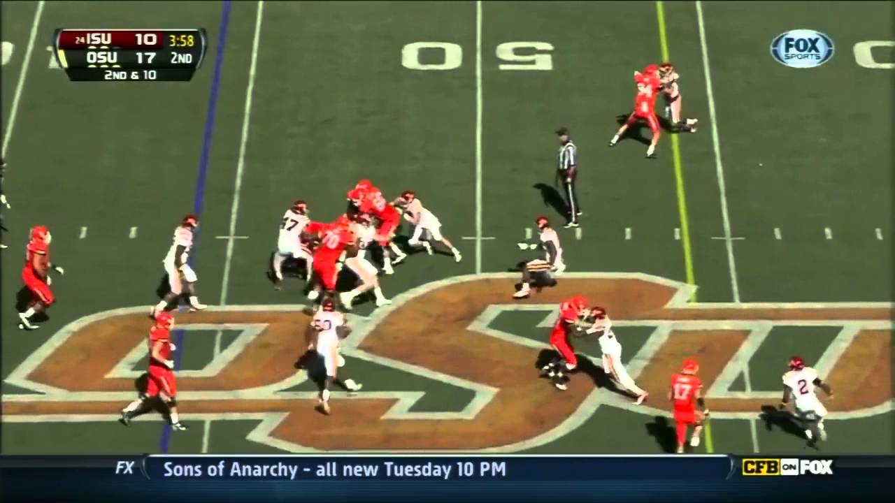 Joseph Randle vs Iowa State (2012)