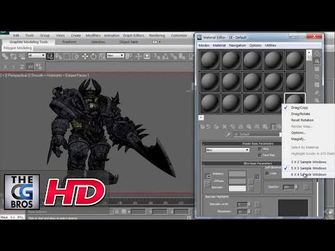 youtube editor - In this quick tutorial, you'll learn how to navuigate the Material Editor found within 3DS Max and see the different funtionalities built into it. We'll look...
