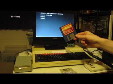 Acorn BBC Master Raspberry Pi Co pro demo