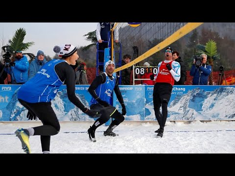 Vorbild Beachvolleyball: Wird Schneevolleyball olympi ...
