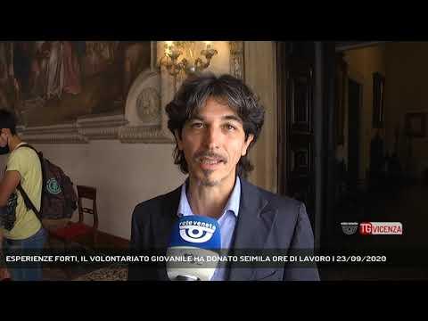 ESPERIENZE FORTI, IL VOLONTARIATO GIOVANILE HA DONATO SEIMILA ORE DI LAVORO | 23/09/2020