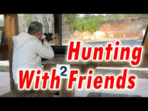 Desi hunting in USA   Hunting With Friends - Outdoor Target Shooting in USA - Hindi/Urdu