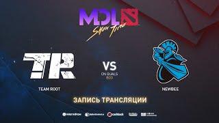 Team Root vs Newbee, MDL Macau CN Quals, bo3, game 3 [Eiritel  & Inmate]