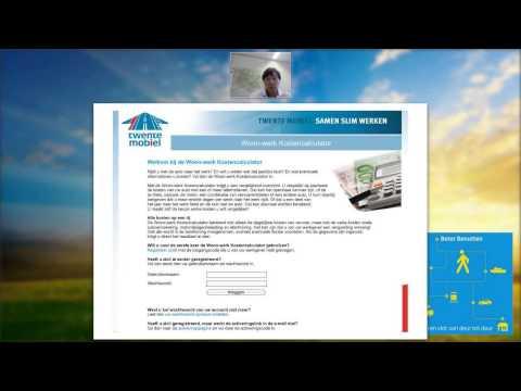 Video Woon-werk Kostencalculator (webinar Twente Mobiel)