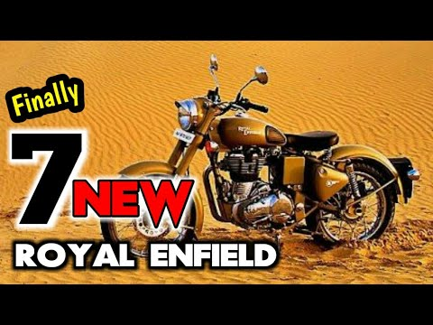 Download 7 New Royal Enfield Bikes 2018 | Classic 350 ABS Range | Himalayan 650 HD Mp4 3GP Video and MP3
