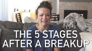 Video THE 5 STAGES AFTER A BREAKUP MP3, 3GP, MP4, WEBM, AVI, FLV Oktober 2018