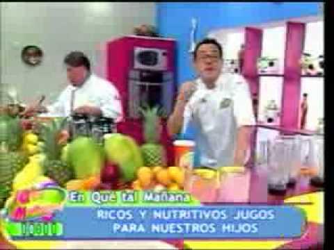 Que Tal Mañana: Jugos de frutas