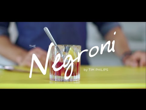 World Class Classic Cocktails at Home with Tim Philips - Negroni
