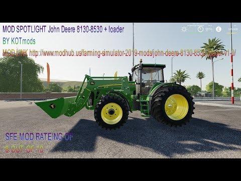 John Deere 8130-8530 + loader v1.0