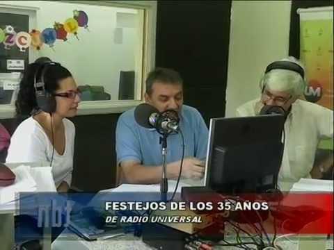 FESTEJOS 35 AÑOS RADIO UNIVERSAL