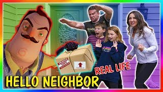 Video THE NEIGHBOR STOLE OUR FAN MAIL! | HELLO NEIGHBOR REAL LIFE | We Are The Davises MP3, 3GP, MP4, WEBM, AVI, FLV Desember 2018