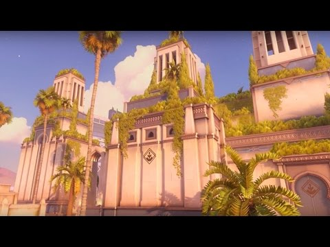 Overwatch Official Oasis New Map Preview Trailer