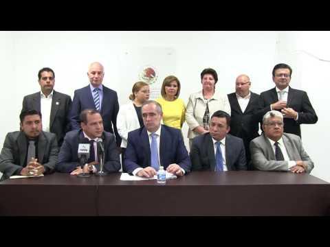 RUEDA DE PRENSA: PRI Y ALIADOS PREPARAN NOMBARMEINTO ILEGAL DE FISCAL-ANTICORRUPCIÓN