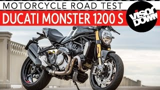 3. 2017 Ducati Monster 1200 S Review Road Test | Visordown Motorcycle Reviews